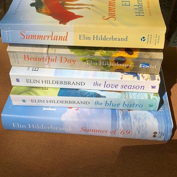 Set of 5 Elin Hildebrand novels